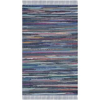 Safavieh Hand-woven Rag Rug Purple Cotton Rug - 2' x 3'