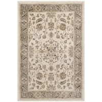 "Safavieh Vintage Oriental Stone/ Mouse Brown Distressed Silky Viscose Rug - 3'3"" x 5'7"""