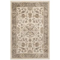 Safavieh Vintage Oriental Stone/ Mouse Brown Distressed Silky Viscose Rug - 2' X 3'