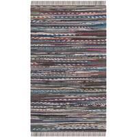 Safavieh Hand-woven Rag Rug Rust Cotton Rug - 2' x 3'