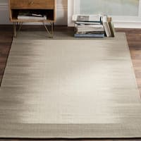 Safavieh Hand-knotted Kilim Beige/ Light Green Wool Rug - 8' x 10'
