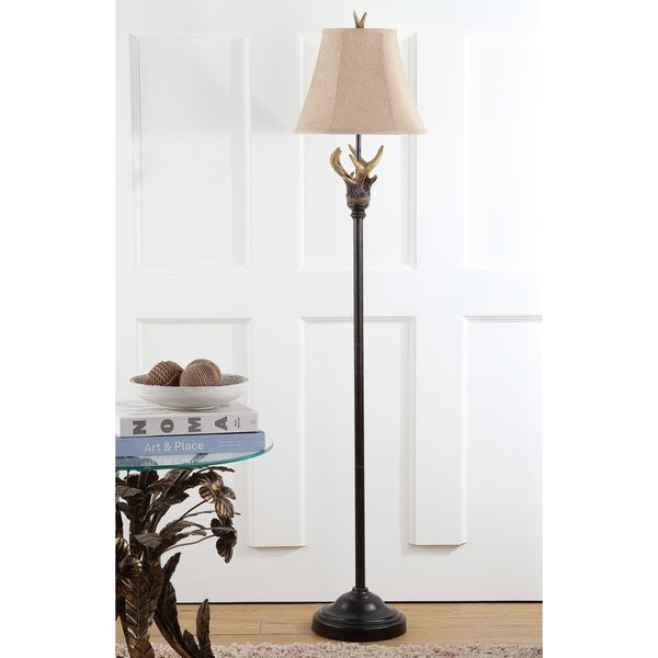 Safavieh Lighting 62-inch Brown Branch Floor Lamp