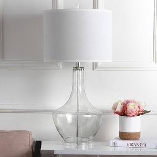 Safavieh Lighting 35-inch Clear Mercury Glass LED Table Lamp