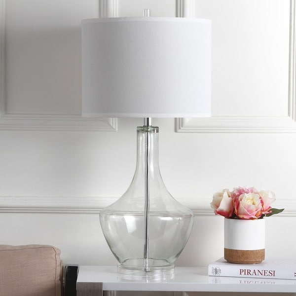 Safavieh Lighting 33-inch Clear Mercury Table Lamp