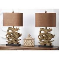 Safavieh Lighting 27-inch Brown Forester Table Lamp (Set of 2)