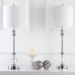 Safavieh Lighting 31-inch Crystal Erica Crystal Candlestick Lamp (Set of 2)|https://ak1.ostkcdn.com/images/products/9043334/P16241022.jpg?impolicy=medium