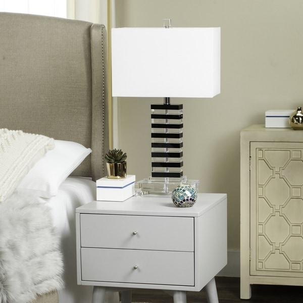 Safavieh Lighting 25.75-inch Crystal Key Table Lamp