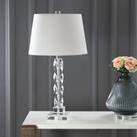 Safavieh Lighting 27.5-inch Crystal Ice Palace Crystal Table Lamp