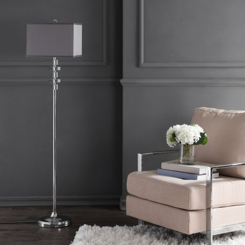 Safavieh Lighting 60.25-inch Crystal Times Square Floor Lamp