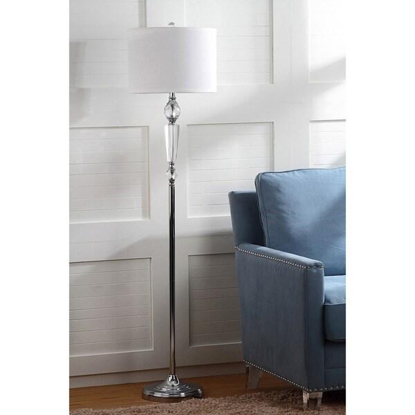 Safavieh Lighting 60.25-inch Crystal Savannah Floor Lamp
