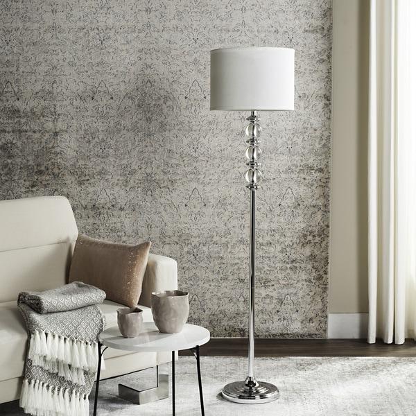 Safavieh Lighting 60.25-inch Crystal Riga Floor Lamp