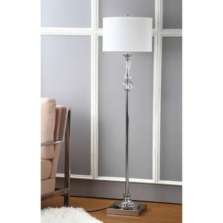 Safavieh Lighting 60.25-inch Crystal Canterbury Floor Lamp