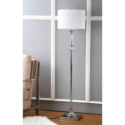 "Safavieh Lighting 60-inch Crystal Canterbury Floor Lamp - 15""x15""x60"""