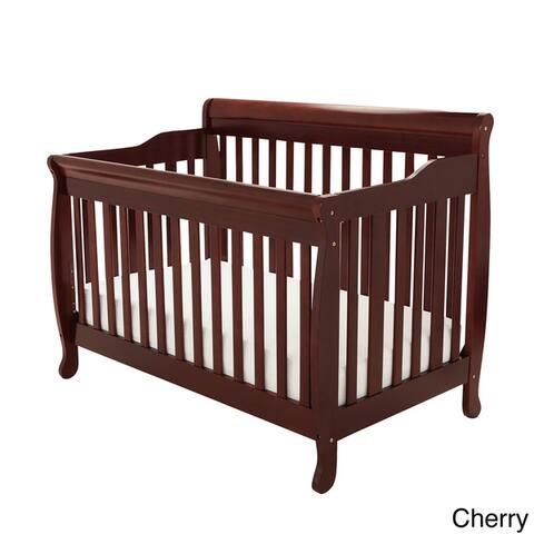 Mikaila Loren 4-in-1 Convertible Crib with Guardrail