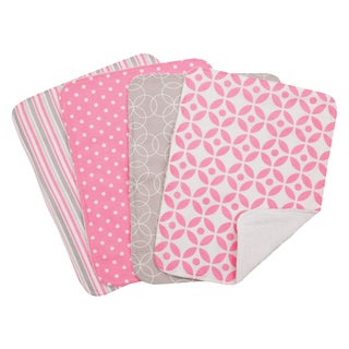 Trend Lab 5-piece Nursing Cover and Burp Cloth Set in Lilly