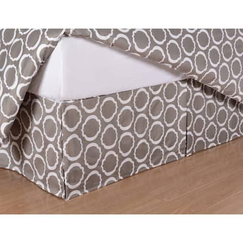 Miranda HausScroll Park 600 Thread Count Cotton Blend 15-inch Drop Bedskirt