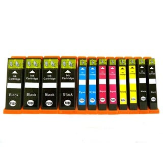 12-pack PGI-250 CLI-251 Ink Cartridge Compatible for Canon Pixma IP7220 MG5420 MG5422 MG6320 MX722 M
