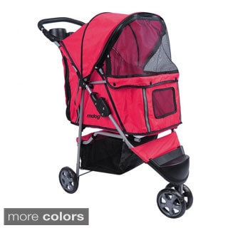 3-wheel Front and Rear Entry Pet Stroller