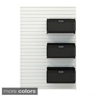 flow wall soft storage bin set of 3