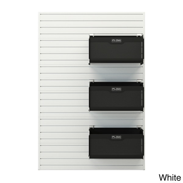 Shop Flow Wall Soft Storage Bin (Set of 3) - Free Shipping Today -  Overstock - 9043698 a23a31135d3b
