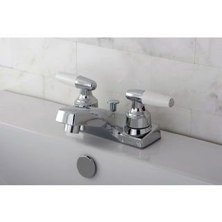 Polished Chrome Centerset Bathroom Faucet