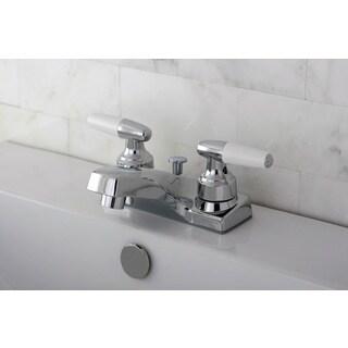Polished Chrome Centerset Bathroom Faucet