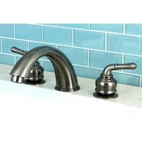 Vintage Nickel Roman Tub Filler Faucet