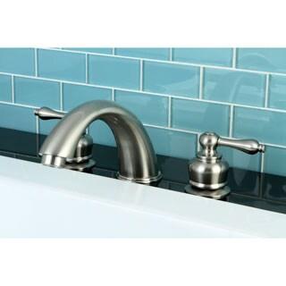 Satin Nickel Roman Tub Filler Faucet