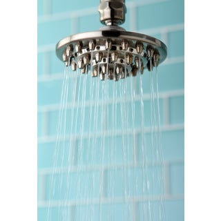 Rainfall Satin Nickel 4-inch Shower Head