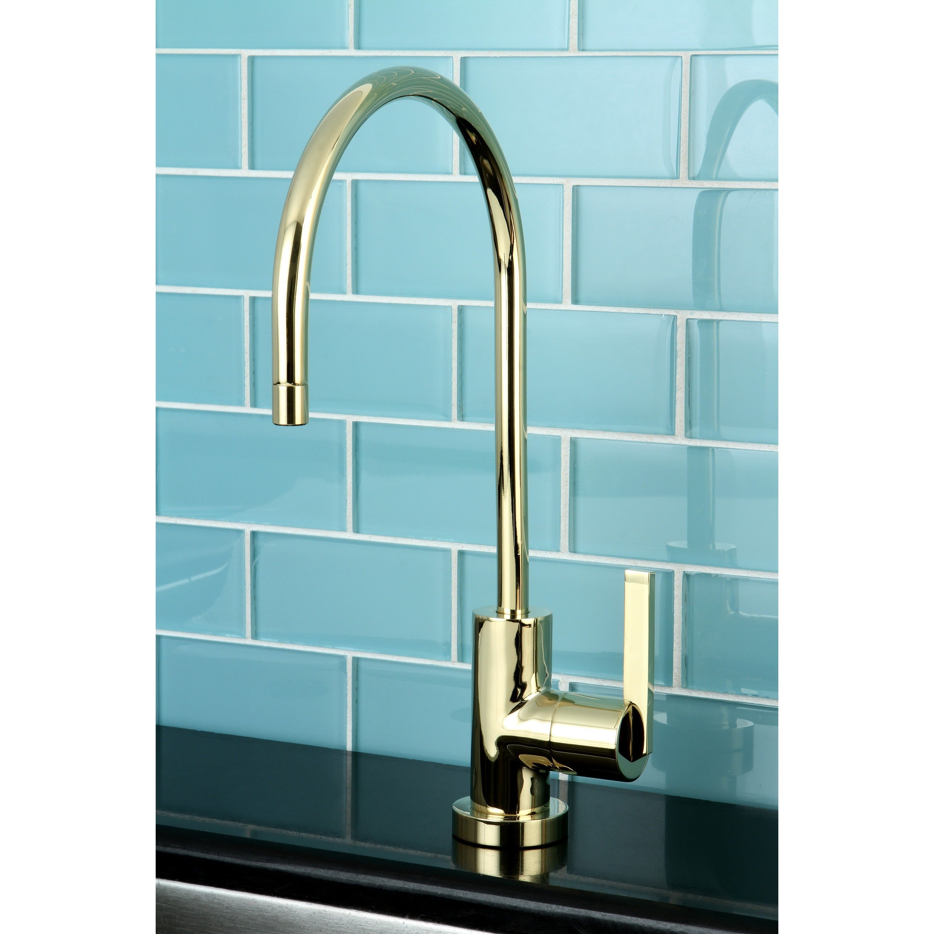 Kingston Single-handle Polished Brass Replacement Drinkin...