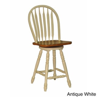 Whitaker Furniture Large Bow-back Counter Stools (Set of 2)