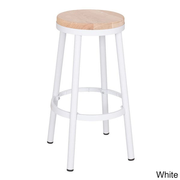 Astounding Shop Osp Home Furnishings Modern Round Backless Metal And Gmtry Best Dining Table And Chair Ideas Images Gmtryco