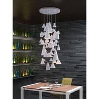 Climate 5-light White Ceiling Lamp