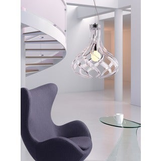 Cyclone Clear Ceiling 1-light Lamp