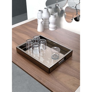 Grandmaster Rectangular Mirrored Tray
