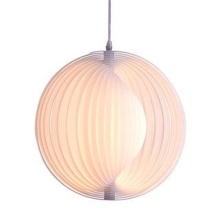 Galileo Single-light White Ceiling Lamp