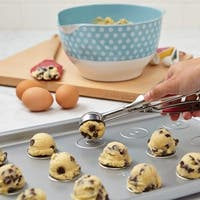 Cake Boss Stainless Steel Tools and Gadgets 2-Tablespoon Mechanical Cookie Scoop