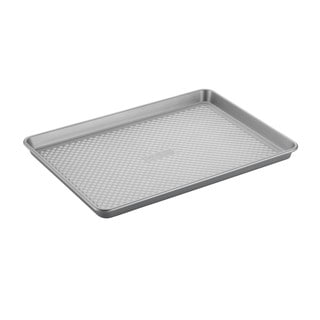 Cake Boss Professional Nonstick Bakeware 13 x 18-inch Silver Jelly Roll Pan