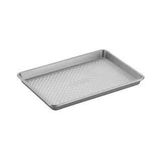 Cake Boss Professional Nonstick Bakeware 9 x 13-inch Silver Jelly Roll Pan
