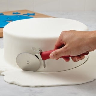 Cake Boss Red Stainless Steel Tools and Gadgets Fondant Cutter