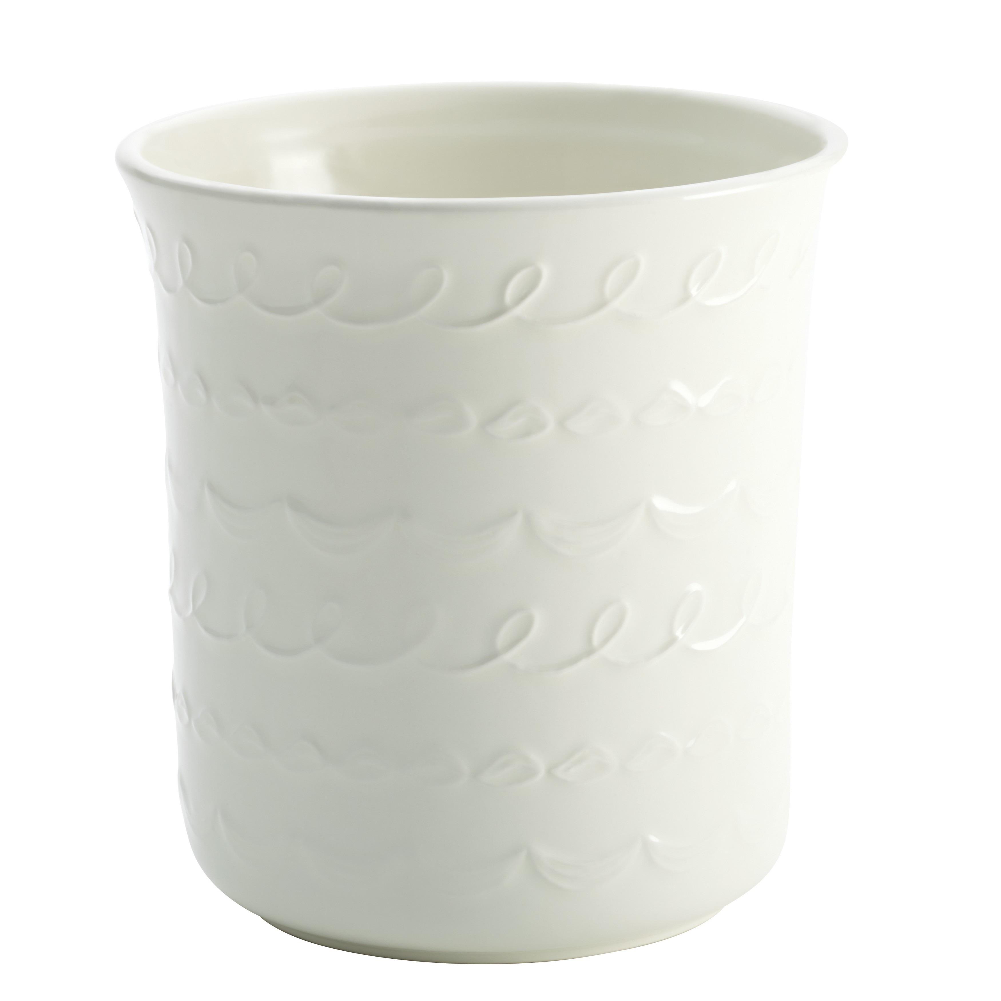 Cake Boss Countertop Accessories Stoneware White 'Icing' ...