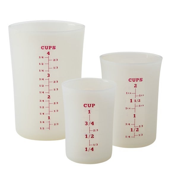 Ml Device Measuring Cups At Walmart : Shop cake boss countertop accessories white silicone