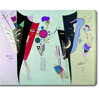 Wassily Kandinsky 'Reciprocal Accords' Oil on Canvas Art - Multi