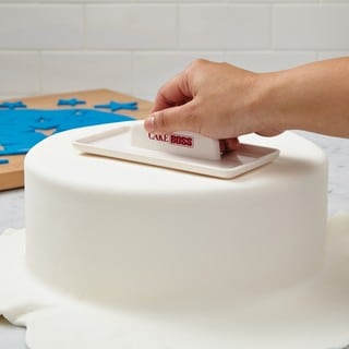 Cake Boss Decorating Tools Cream Plastic Fondant Smoother