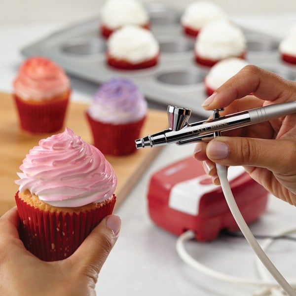 Shop Cake Boss Red Decorating Tools Airbrushing Kit On Sale Free
