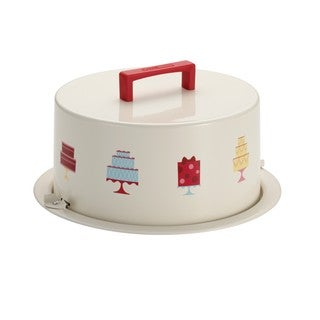 Cake Boss Serveware 'Mini Cakes' Cream Metal Cake Carrier