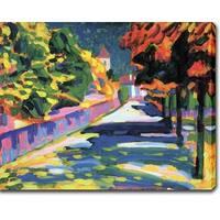 Wasilly Kandinsky 'Autum in Bavaria' Oil on Canvas Art