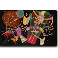 Wassily Kandinsky 'Composition X' Oil on Canvas Art - Multi