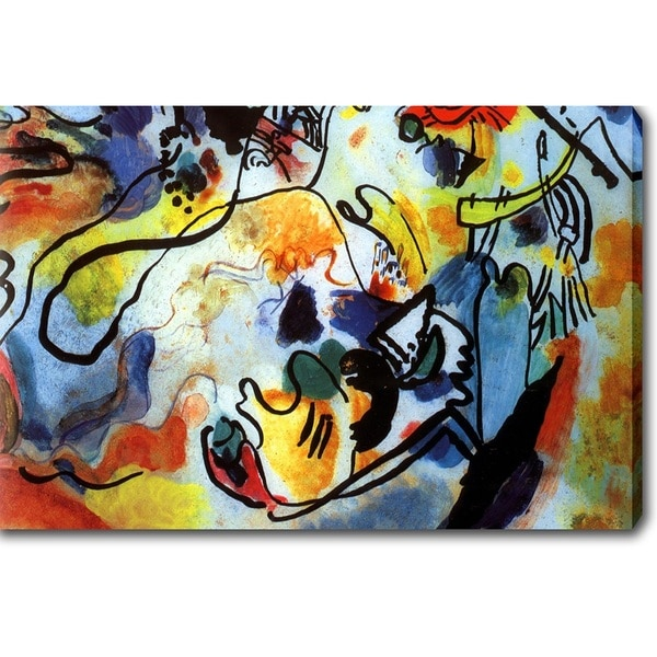 Wassily Kandinsky The Last Judgment Y Oil On Canvas Art