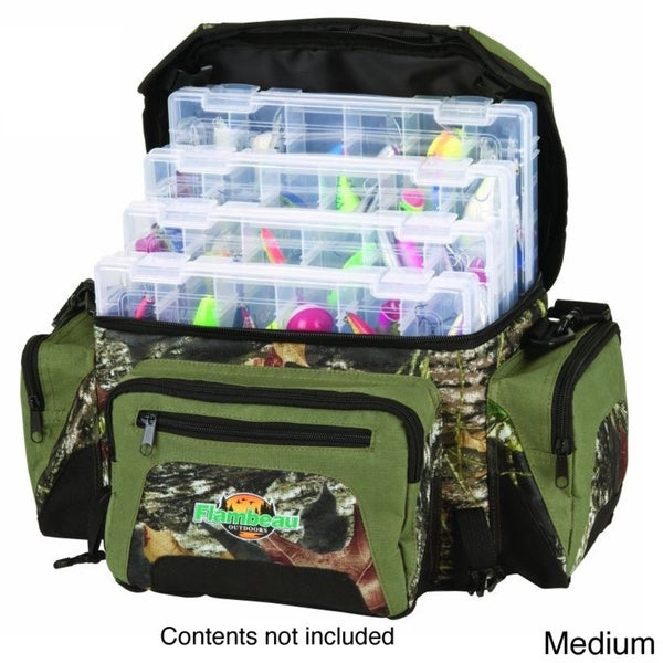 Flambeau Camo Soft Tackle Bag